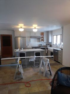 This is the kitchen, which will be a 398% improvement, over the old 1958 kitchen!  #thetreasuredhome