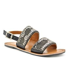 Loving this Black Sable Sandal on #zulily! #zulilyfinds