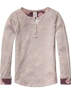 Allover Printed Grandad Shirt
