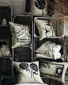 Silkscreen printed Pillows - Yudu get ready