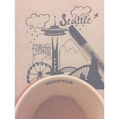 Coffee & Doodling ☕️➰ ☔️