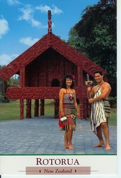New Zealand - Rotorua - Maori costume