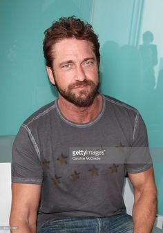 Actor Gerard Butler attends the Ellery show during Mercedes-Benz Fashion Week Australia 2014 at Bondi Icebergs Dining Room on April 7, 2014 in Sydney, Australia.