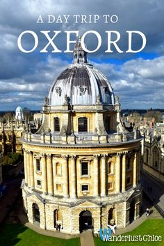 A Day Trip To Oxford. With its magnificent history and architecture, great shopping, delicious food and some quirky spots too, Oxford makes for the perfect English day trip!