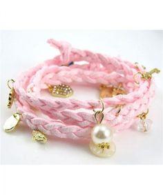 #pink#fashion#bracelet