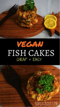 A vegan fishcake recipe perfect for beginner vegans and those transitioning to a vegan lifestyle. This recipe is very easy, with minimal ingredients and is very cheap to make. #veganrecipes #veganmeals #beginnervegan