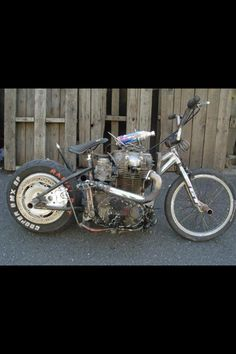 I love rat bikes but this is ridiculous!!!!!!
