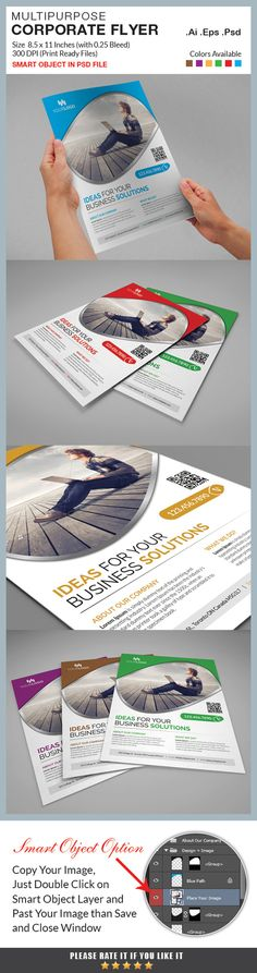 Corporate Flyer by RQ Designs on @creativework247