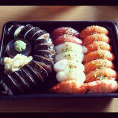 Sushi  Sushi, Drinks, Ethnic Recipes, Food, Drinking, Beverages, Essen, Drink, Meals