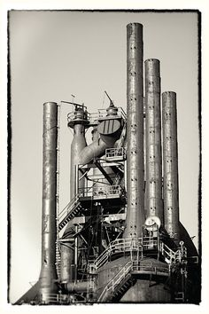 Bethlehem  Steel Postcard Photography Set  Wall Art by scottkrycia, $5.99
