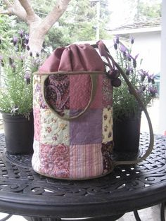 Go-To-Market Bucket Bag PATTERN Beach Bag by quilterbynight