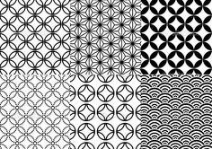 японский образец, вектор — Стоковая иллюстрация #1402676