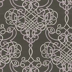 DELLA - SMOKE. Image: calicocorners.com. Calico Corners. #fabric #brown_and_pink