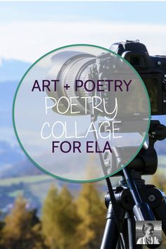 Looking to engage your secondary ELA students around poetry? If they love blackout poetry, give poetry collage a try too. Students combine their own creative or curated art with fragments of poems they love and end up with beautiful poetry collages.