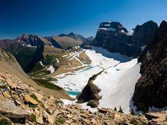 Glaciar Grinnell, Parque Nacional dos Glaciares – Montana – Estados Unidos   Foto: Sathish J