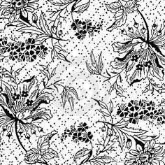 Vintage floral Scrapbook Background by Jodielee, via Dreamstime