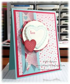 Stampin' Up! Valentine  by Mindy Backes at Bada-Bing! Paper-Crafting!