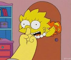 Animated gif about funny in Homer and Simpsons by Khana Simpsons Simpsons, Simpsons Frases, Simpsons Quotes, Cartoon Icons, Cartoon Memes, Funny Memes, Cartoon Styles, Simpson Tumblr, Los Simsons