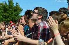 Boston Calling Music Festival Crowd - Front Row