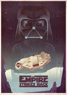 James Gilleard's The Empire Strikes Back poster