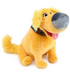 "Disney Store Authentic Pixar Up Dug Doug Dog 6"" Plush Stuffed Bean Bag New Tag #Disney"