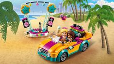 Andreas Bühne & Auto 41390 - LEGO Friends Sets - LEGO.com für Kinder - DE Lego Store, Lego Sets, Play Cube, Lego Friends Sets, Home Themes, Lego System, Shops, Character And Setting, Autos
