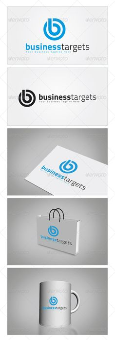 Business Targets - Logo Design Template Vector #logotype Download it here: http://graphicriver.net/item/business-targets-logo-template/5982613?s_rank=189?ref=nesto