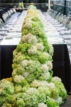 View entire slideshow: Cascading Centerpieces on http://www.stylemepretty.com/collection/1511/