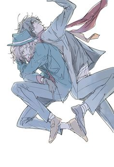 Lol Chuuya is giving the finger..