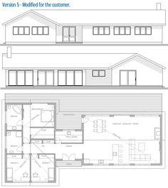 Modified House Plan / Customer Home