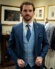 @whitfieldandward posted to Instagram: WEDDING SUIT INSPIRATION - Spring Summer 2021 weddings are beginning to feel positive again! Our fresh NEW wedding suit collection is NOW in store to try on. If you plan to marry next year it's important to get the ball rolling! Hire and bespoke wedding suits need to be booked at least 5 months in advance. We'll make your first wedding suit consultation a fun experience. @oli_the_choc is wearing our Ocean flannel tweed suit and new tweed waistcoat from… Tweed Wedding Suits, Tweed Suits, Wedding Suit Collection, Tweed Waistcoat, Instagram Wedding, 5 Months, Try On, Bespoke, Men Dress