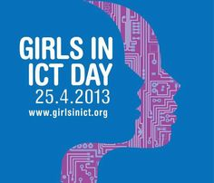 A message from Neelie Kroes for Girls in ICT Day today!  ICT careers arent just exciting, diverse, challenging, full of opportunity: theyre also for everybody, men and women.