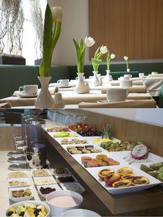 Hotel Maximilian Stadthaus Penz | Boutique Hotel | Austria | http://lifestylehotels.net/en/hotel-maximilian-stadthaus-penz | restaurant, breakfast, buffet, food