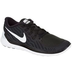 Nike Free 5.0 Running Shoe ($145) ❤ liked on Polyvore featuring shoes, athletic shoes, sneakers, light weight running shoes, lightweight shoes, light weight shoes, running shoes y nike