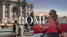 Female Solo Travel in Rome 🇮🇹 | Part 1 Solo Travel, Rome, Female, Rum, Travel Alone, Rome Italy