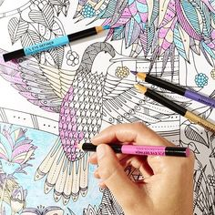 Get some colour in your life and get creative with our eye definer crayons. Have you got your free colouring book yet? When you purchase from our new facemasks range you receive a complimentary full colouring book* #Makeup #MakeupAddict #Colouring #Colouringbook #DaretoMask #TheBodyShop *subject to stock availability