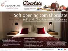 Soft Opening with Chocolate, Óbidos, Portugal. Offers available for stays in between 23rd  February till 23rd March. 2 tickets included for the famous chocolate festival in Óbidos!