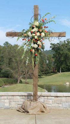 The cross was the center of our wedding ceremony as it will also serve as the center of our marriage. It was perfect!