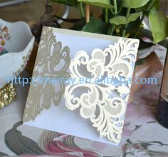 80pcs/ lot 2014 laser cut wedding invitations , invitation cards for wedding decorations , latest indian wedding card designs