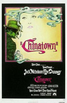 (Los Ángeles) Chinatown a film by Roman Polanski (1974) with Jack Nicholson, Faye Dunaway and John Huston
