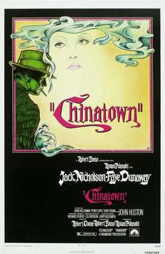 (Los Ángeles) Chinatown a film by Roman Polanski (1974) with Jack Nicholson, Faye Dunaway and John Huston ; signatura G 8-88/532 y A 8-88/165