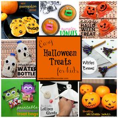Are you looking for some easy last minute Halloween snack ideas? Here is a collection of some fun and easy halloween treats.