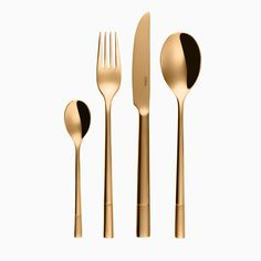 24 Piece Stainless Steel Cutlery Set, Service for 6 Sola Switzerland Gold Cutlery, Cutlery Set, Stainless Steel Cutlery, Sugar Spoon, Dessert Spoons, Coffee Spoon, Steak Knives, Indoor Air Quality