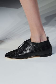 Pointed oxford at Victoria Beckham Fall 2014