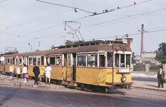 Ilyen is volt Budapest - Jászberényi út Anno Domini, Light Rail, Commercial Vehicle, Budapest Hungary, Public Transport, Old Pictures, Historical Photos, Around The Worlds, Europe