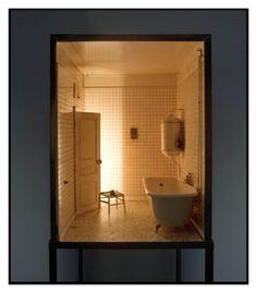 Charles Matton . bathroom II, 1987