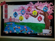 Mrs. DelRosal's Japanese board!