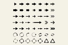 Universal arrows by Leone_v on Creative Market
