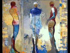 Infinity- Jylian Gustlin by franca fiorellino - YouTube - Jeff Beck - great to show expressive figurative work!