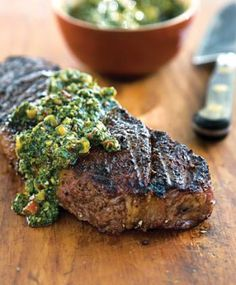 Here's where to find BRAZILIAN ingredients for Churrasco-Style Steak with Chimichurri. See the stores guide listed in THE GROCERY SHOPPING GUIDE at http://www.allaboutcuisines.com/grocery-shops/brazil  #Brazilian Food #Brazilian Recipes